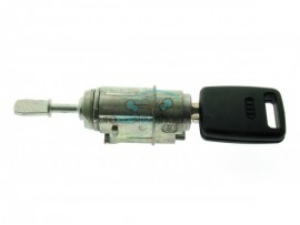 Audi compleet lock Left porter with key for Audi A6 - Key Blade HU66 - after market product